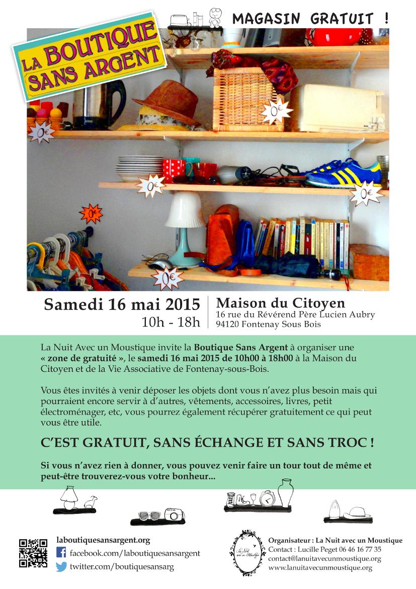 Zone De Gratuite 16 Mai Maison Du Citoyen Fontenay Sous Bois