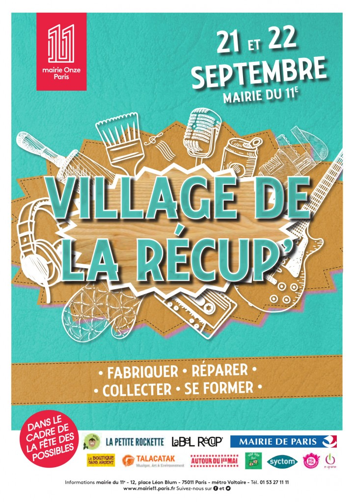MAIRIE 11 - Flyer Village de la récup